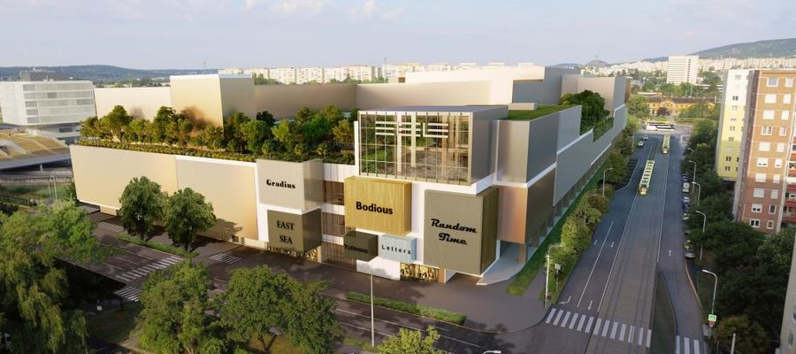 Etele Plaza shopping mall construction begins