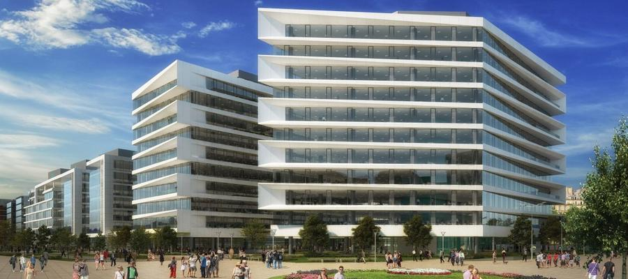 Construction starts on Budapest's Millennium Gardens office complex